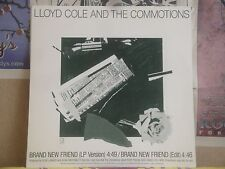 """LLOYD COLE & THE COMMOTIONS, BRAND NEW FRIEND - PROMO 12"""" SINGLE PRO-A-2461"""