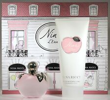 Nina L'Eau By Nina Ricci 2 Pcs Set W/ 2.7oz. Edt Spray For Women New In Box