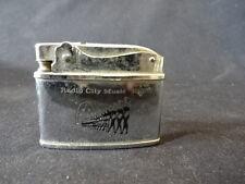 Old Vtg Radio City Music Hall Cigarette Lighter Rockettes Showplace Of Nation