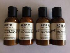 $48 New 4 Le Labo Rose Body Lotion Fairmont made 3/19 5.6 OZ, SAME AS 2 JUMBOs