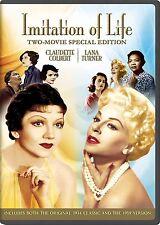 IMITATION OF LIFE (1934 & 1959 versions) -  DVD - REGION 1 - Sealed