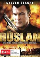 Ruslan DVD Steven Seagal Action Movie - AKA: DRIVEN TO KILL 2009 - AUST REGION 4