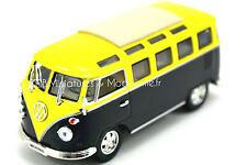 Vw Combi T1 23 Vitres Gris & Blanc N°5 1/43 Volkswagen Kombi