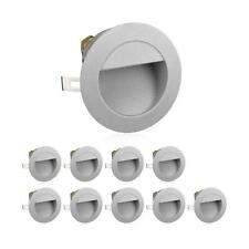 LED Staircase Light Recessed Wall Light For Outdoor, Round, Warm White, 230V, 10