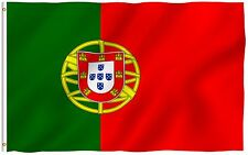 ANLEY Portugal State Flag Portuguese Republic Banner Polyester 3x5 Country Flag