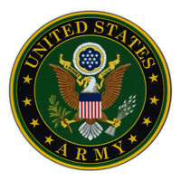 Magnetic Bumper Sticker - United States Army - Military Support, Pride Magnet