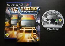 JEU Sony PLAYSTATION 2 PS2 : TURBO TRUCKS (Phoenix COMPLET envoi suivi)