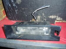 1999-2005 FIAT PUNTO MK2 MK3 NUMBER PLATE LIGHT, MORE PARTS LISTED