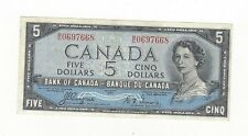 **1954 Devil's Face**Canada $5 Note, Coyne/Towers BC-31a, Ser# BC 0697668
