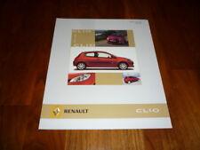 Renault Clio EMOTION Prospekt 04/2006 Spanien