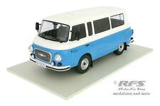 Barkas B1000 - Kleinbus - blau / weiß - 1965 - 1:18 - Modelcar Group 18007
