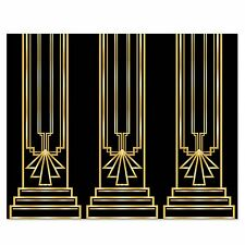 Art Deco GREAT GATSBY 20s COLUMN BACKDROP Party Decoration PHOTO PROP Booth
