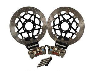 Fits Suzuki GSXR1000 K5 K6 05 06 Brembo GP4-RX + 320mm Front Brake Upgrade Kit