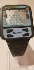 Vintage Nelsonic Qbert Video Game Watch LCD Quartz  - Great condition Q bert