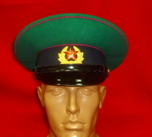 1971 Russian Soviet KGB Border Guard Soldier Parade Uniform Cap Hat USSR