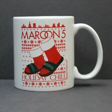 Maroon 5 Christmas Holiday Chill 12oz Coffee Mug - 2017 Tour Concert Exclusive