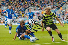 SCUNTHORPE UNITED HAND SIGNED MARTYN WOOLFORD 6X4 PHOTO 3.
