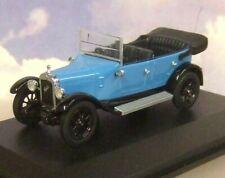 OXFORD DIECAST 1/43 1934 AUSTIN HEAVY TWELVE 12/4 KINGFISHER BLUE & BLACK AHT004