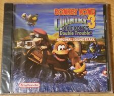 CD~Donkey Kong Country 3~Eveline Fischer~Soundtrack~NEW~SEALED~Jewel Case~RARE~