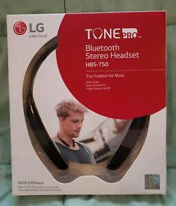LG TONE PRO HBS-750 Wireless Bluetooth Stereo Headset Headphones - NIB brand NEW