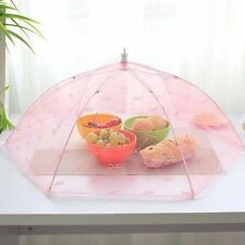 Food Umbrella Cover Picnic Barbecue Party Sports Fly Mosquito Tent Up Mesh Net