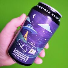 Star Snake Dank Ipa Kinkaider Brewing Collectible Empty Beer Can Alien Invasion