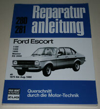 Reparaturanleitung Ford Escort Mk. II 1100 / 1300 / 1600 / Mexico / RS 2000