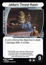 Star wars pocketmodel 2x Jabba 's trône room #036