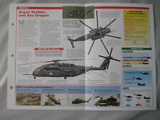 Aircraft of the World Card 42 , Group 3 - Sikorsky S-80/CH-/MH-53E