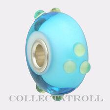 Authentic Trollbeads Turquoise Green Spring Bud Bead TrollBead  61366
