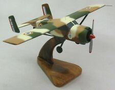 Max Holste MH-1521 Airplane Desktop Wood Model Large