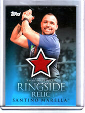 WWE Santino Marella 2009 Topps Ringside Relic Event Worn Shirt Card B