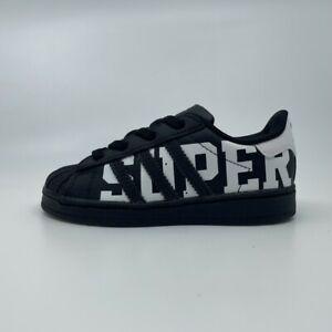 Adidas Boys Trainers Size UK 3 4 5 7 8 Infant 👟 GENUINE SUPERSTAR™ Girls Baby