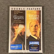 The Talented Mr. Ripley / Ripley's Game (Dvd, Double Feature, 2013)