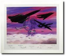 Lockheed Legends by Mike Machat - Skunkworks Airplanes SR71 - Aviation Art Print