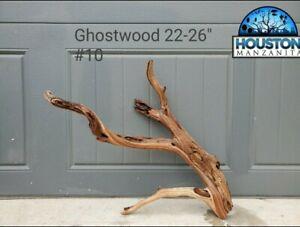 "Houston Manzanita - 22-26"" Ghostwood Branches Driftwood Aquarium Fish Manzanita"