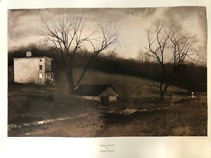 "Andrew Wyeth ""Evening At Kuerners"" Lithograph Print, 28 3/4"" x 18 1/2"" (Image)"