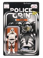 Ron English Police Grin *SDCC 2020 EXCLUSIVE* in hand! Numbered 20/50 signed