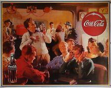 Coca Cola 22x28 Vintage Advertising Art Poster Classic