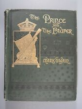 The Prince and the Pauper by Mark Twain 1882 HC First Edition First Issue