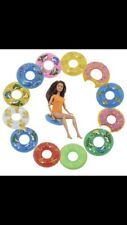 Anello in Gomma Galleggiante Bouy Bambola Barbie Nuoto Boy Girl BRACCIO sicurezza ELF Anatra Bagno