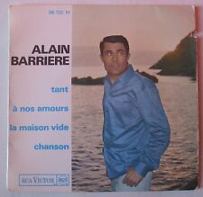 ALAIN BARRIERE (EP 45T) TANT + 3