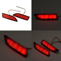 Universal Car Rear Bumper Red Led Fog Brake Light Lamp Warning Lights Red