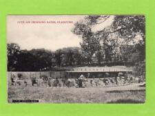 Open Air Swimming Baths Gladstone Hall Port Sunlight unused pc  Ref D251