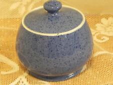 Vintage Moorcroft Powder Blue Lidded Bowl