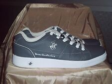 BEVERLY HILLS POLO CLUB MEN'S CHARCOAL ATHLETIC SHOES SIZE 9.5 (BMF132)