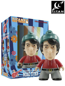 Titan Merchandise The Monkees Michael Nesmith Titans 4.5 Inch Figure New Bad Box