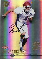 Alex Bannister 2001 Pacific Dynagon Rookie Auto Autograph #D /699