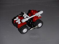 Kre-o GI Joe Cobra Ferret custom Lego ATV Crimson Guard