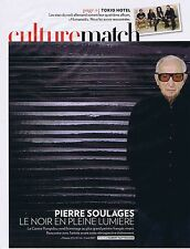 COUPURE DE PRESSE CLIPPING 2009 PIERRE SOULAGES (3 pages)
